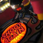 """Shoot Again"" is one image in a fine-art series of pinball photography titled, ""The Game, Reflected"" by Kevin Tiell -- http://kevin.tiell.com"